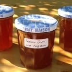 Delicious Slow Cooker Peach Jam & only 3 ingredients! Take the heat out of jam making & let your Crockpot do all the work for you.