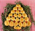 Olive, Tomato and Herb Christmas Tree Bread