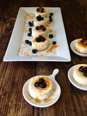 Sugar Free Mini Cheesecakes