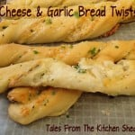 Homemade Garlic Bread Twists