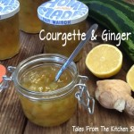 Courgette & Ginger Jam is delicious & a great way to use up overgrown courgettes / zucchini.