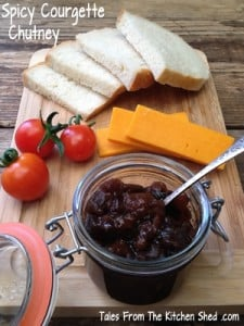 Spicy Courgette Chutney