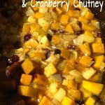 Spicy Pumpkin & Cranberry Chutney