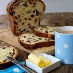 "Guernsey Gâche (pronounced ""Gosh"") is a traditional fruit loaf. The perfect teatime treat or toasted for breakfast."