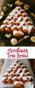 Sweet & Spicy Christmas Tree Bread makes a great centrepiece for any ...