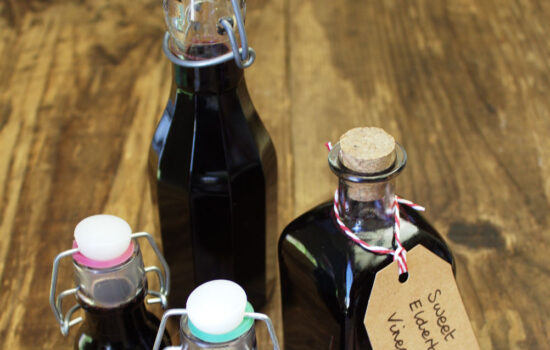 Sweet Elderberry Vinegar