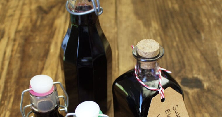 Sweet Elderberry Vinegar