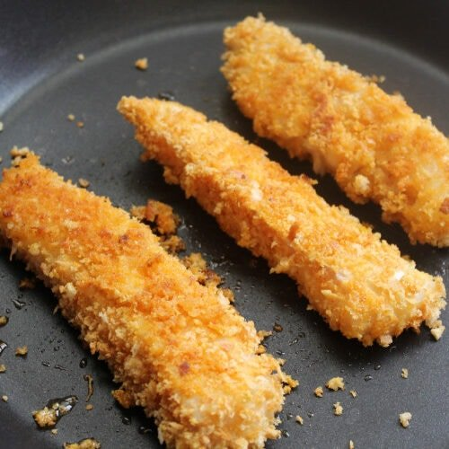 Flaky succulent cod coated in golden, crispy breadcrumbs. Jumbo Cod Fish Fingers go down a treat with all the family. Quick & easy to make - freeze for later, bake or fry.