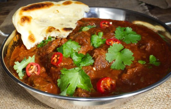 Slow Cooker Beef Madras Curry